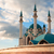 minaret · moskee · hemel · wolken · Turkije · istanbul - stockfoto © cosma