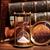 虫眼鏡 · 古い · 図書 · スタック · アンティーク · 木製のテーブル - ストックフォト © cosma