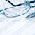 business · pen · bril · papier · cijfers · industrie - stockfoto © cosma