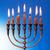 традиционный · освещение · свечей · Nice · синий · свечу - Сток-фото © cosma
