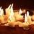 iluminação · velas · conjunto · escuro · vermelho - foto stock © cosma