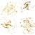 penseel · gouden · vector · icon · ontwerp · goud - stockfoto © cosveta