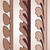 vintage · decorativo · conjunto · marrom · floral · padrão - foto stock © cosveta