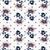 vintage wallpaper seamless rose flower pattern on circles polka stock photo © cosveta