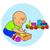 pequeno · bebê · menino · jogar · brinquedos · criança - foto stock © cosveta