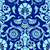 blue seamless abstract hand drawn floral pattern vintage background seamless pattern can be used f stock photo © cosveta