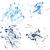塗料 · スプラッタ · カラフル · ベクトル · デザイン · 抽象的な - ストックフォト © cosveta