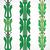 vintage · decorativo · establecer · verde · floral · patrón - foto stock © cosveta