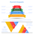 negócio · pirâmide · vetor · modelo · projeto - foto stock © cosveta