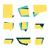 conjunto · colorido · venda · adesivos · isolado - foto stock © cosveta