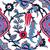 vetor · telha · floral · étnico · desenho - foto stock © cosveta