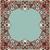 vettore · frame · orientale · stile · magnifico - foto d'archivio © cosveta