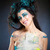 retrato · belo · elfo · cabelos · longos · mulher · cara - foto stock © courtyardpix