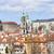 Prag · kilise · kar - stok fotoğraf © courtyardpix