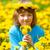 mani · piccolo · fiore · giardino - foto d'archivio © courtyardpix