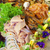 seafood   salmon and shrimps stock photo © courtyardpix