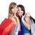 portrait · deux · heureux · filles - photo stock © courtyardpix