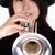 играет · трубы · игрок · белый · музыку · фон - Сток-фото © courtyardpix