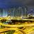 aerial view of the city overpass at night hongkong stock photo © cozyta