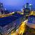занят · движения · ночь · Финансы · городского · Гонконг - Сток-фото © cozyta
