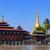 住宅 · 村 · 湖 · ミャンマー · 建物 · 木材 - ストックフォト © cozyta
