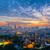 zon · groene · punt · buurt · skyline · rivier - stockfoto © cozyta