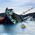 gemi · enkazı · kaza · kayalar · plaj · güneş · gün · batımı - stok fotoğraf © cozyta