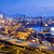 контейнера · моста · Гонконг · закат · небе · дороги - Сток-фото © cozyta