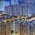 kalay · bölge · Hong · Kong · gece · şehir · ev - stok fotoğraf © cozyta