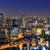 Osaka · noite · linha · do · horizonte · arranha-céu · edifício · Japão - foto stock © cozyta