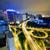 stoplicht · centrum · gebouw · licht · achtergrond · Blauw - stockfoto © cozyta