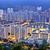 yerleşim · bölge · Hong · Kong · gece · su · Bina - stok fotoğraf © cozyta