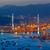 otoban · gece · araba · ışık · modern · şehir - stok fotoğraf © cozyta