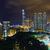 Hong · Kong · pôr · do · sol · cidade · negócio · escritório · luz - foto stock © cozyta