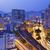 busy traffic night in finance urban stock photo © cozyta