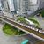 rotonde · verkeer · centrum · Hong · Kong · hemel · gebouw - stockfoto © cozyta