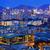 hong kong urban night stock photo © cozyta