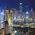 Hongkong · mieszkaniowy · budynku · krajobraz · niebieski · noc - zdjęcia stock © cozyta