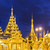 pagode · birmânia · Mianmar · noite · mundo · rio - foto stock © cozyta