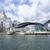 Hong · Kong · porto · vermelho · velejar · barco · céu - foto stock © cozyta
