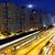 tráfico · Hong · Kong · noche · luz · rail · resumen - foto stock © cozyta