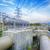 refinería · de · petróleo · humo · cielo · tecnología · azul - foto stock © cozyta