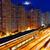 busy highway train traffic night in finance urban stock photo © cozyta