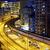 moderno · noite · da · cidade · tráfego · Hong · Kong · noite · abstrato - foto stock © cozyta