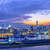 Hong · Kong · linha · do · horizonte · porto · colorido · luzes · da · cidade · noite - foto stock © cozyta