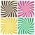 set of swirling radial backgrounds stock photo © creativika