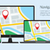 illustratie · gps · navigatie · laptop - stockfoto © creativika