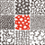 set · semplice · senza · soluzione · di · continuità · texture · verde · modelli - foto d'archivio © creativika