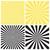set of radial sunburst backgrounds stock photo © creativika