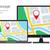 Navigation Concept of Responsive Map Application stock photo © creativika